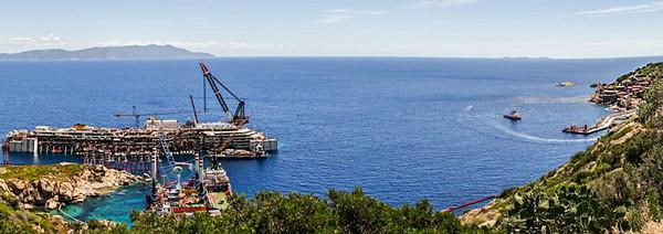 Costa Concordia e L'Isola del Giglio, 2014