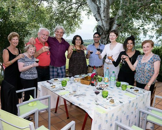 Viaggio in Provenza, Francia con Cicci, Ina, Mario e Joan, 2014